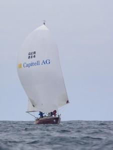 Capitell setzt weiter Segel auf der Nordseewoche.