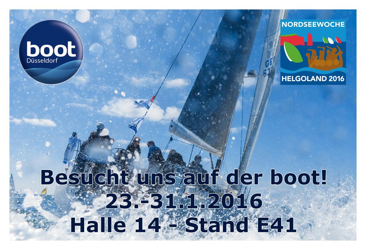 Besucht uns doch auch an unserem Messestand auf der boot 2016 in Düsseldorf
