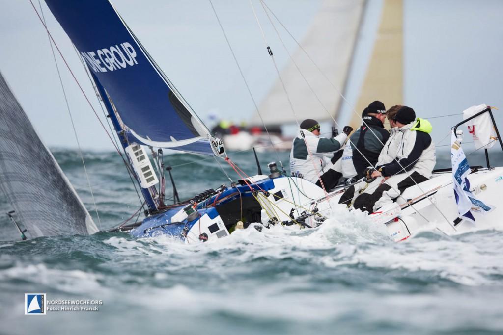 Herausforderung der vergangenen Nordseewoche: Starkwind und Seegang vor Helgoland