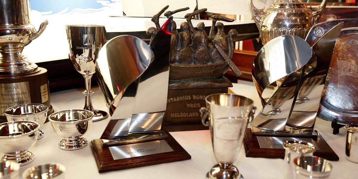 Wanderpreise und Pokale der Nordseewoche